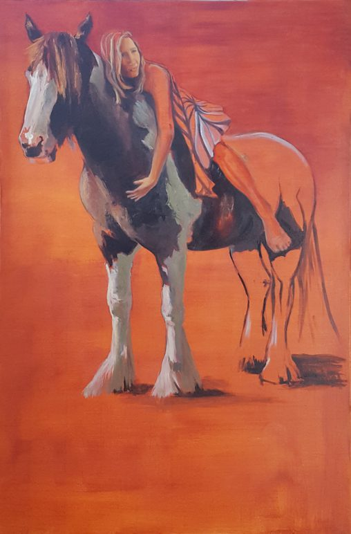 painting tinker horse and pauline