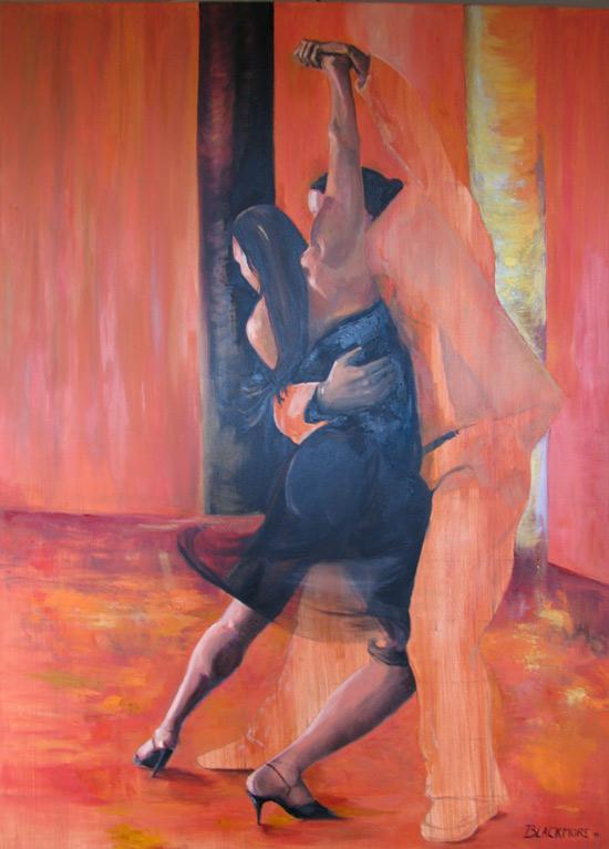 painting gustovo gisela tango