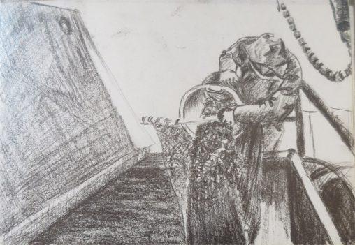 garnalen in zak