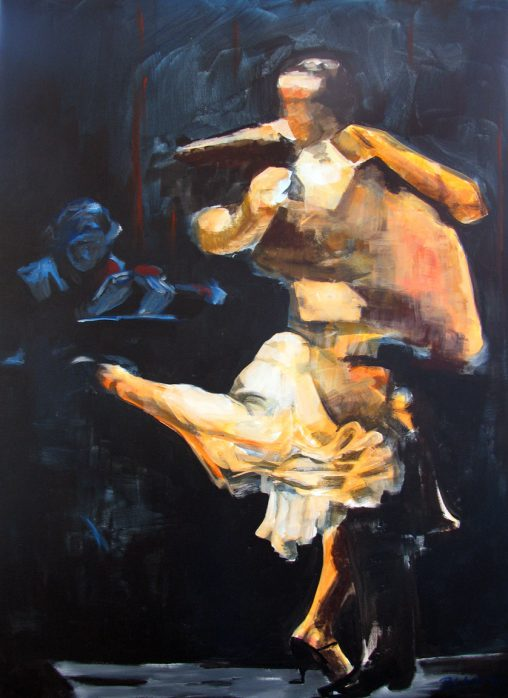 dancers with orchestra