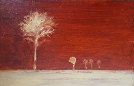 blanke bomen